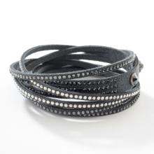 Wrap-Star Bracelet, Dark Grey