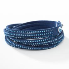 Wrap-Star Bracelet, Navy
