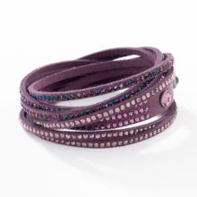 Wrap-Star Bracelet, Plum