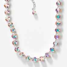 Crystal Aurore Boreale Glitz Necklace