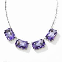 Vivid Purple Necklace