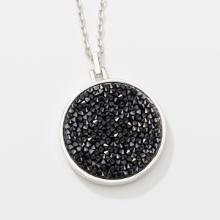 Rock and Roll Pendant, Black