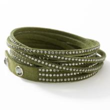 Wrap-Star Bracelet, Olive Green