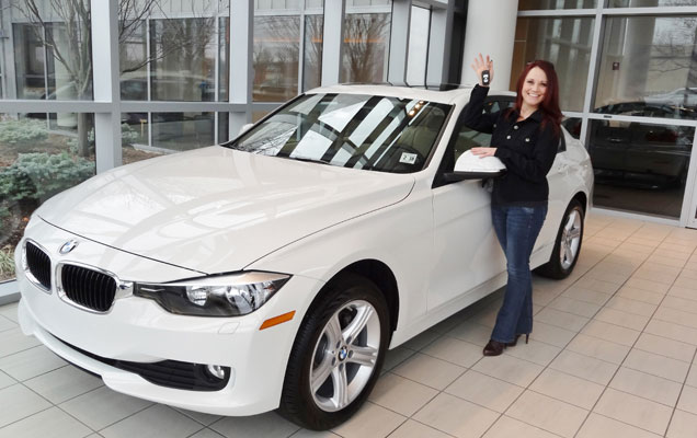 BMW convertible paid for by Touchstone Crystal